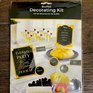⭐️$5/25 New! Party City Buffet Decorations for Happy Birthday!